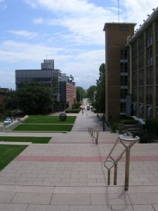 The campus of UNSW