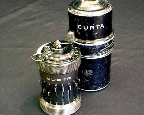 Curta field calculator